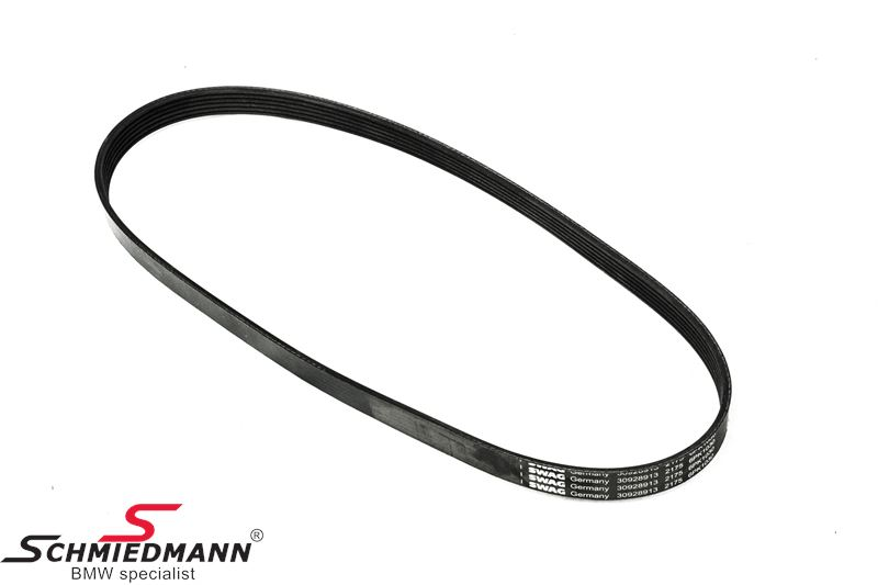 Belt drive waterpump/alternator/aircon 6PK X 1033