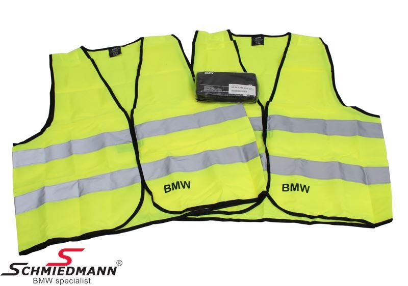 Warnweste, satz 2 Stück - Original BMW