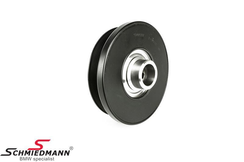 Belt pulley on the crankshaft for the V-belt, original -DAYCO-