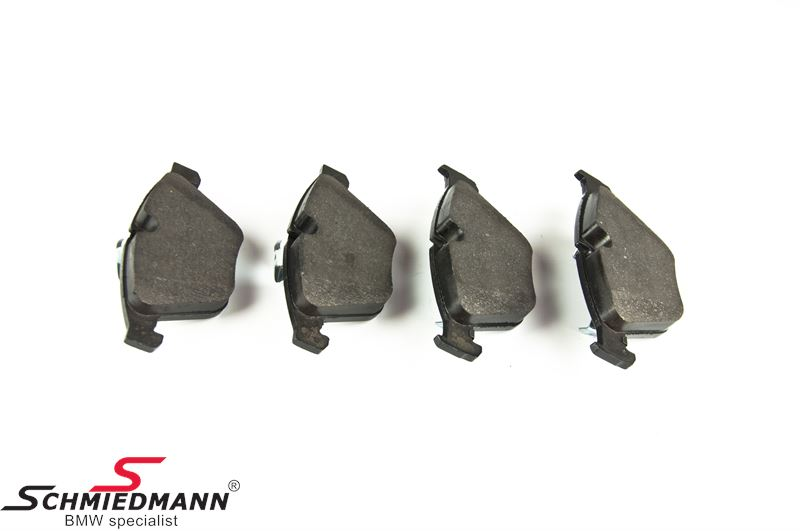 Brake pads front - original Zimmermann Germany