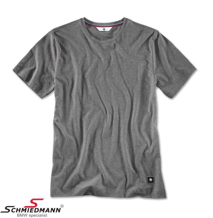 T-shirt, herre space grey, Str. XXL