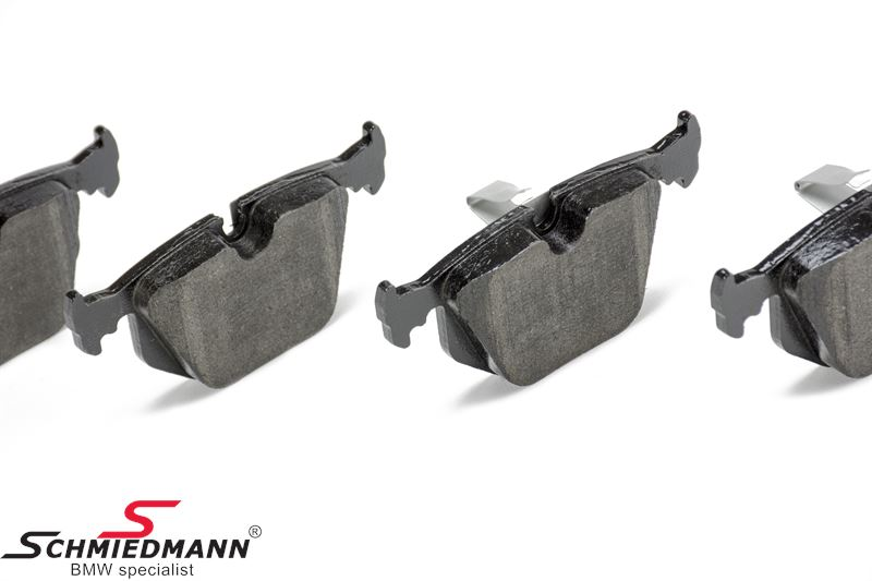 Brake pads rear, original Hella-Pagid