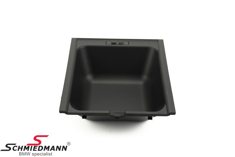 Tray for center armrest