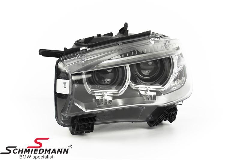 Headlight D1S Bi-xenon L.-side with xenon/adaptive light - original BMW