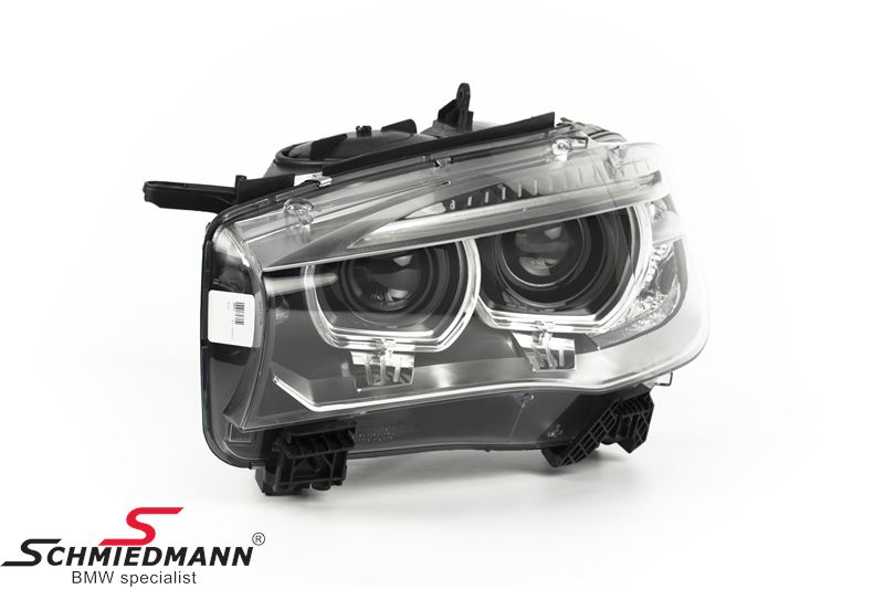 Forlygte D1S Bi-xenon V.-side med xenon uden kurvelys - original BMW