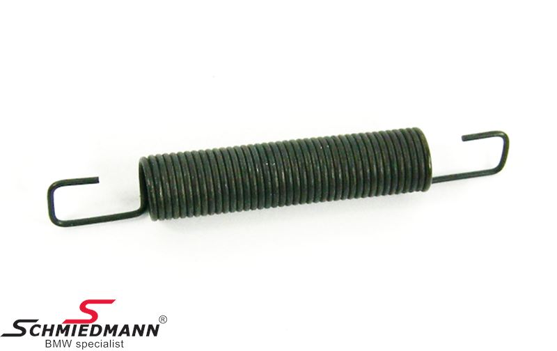 Tension spring for folding top