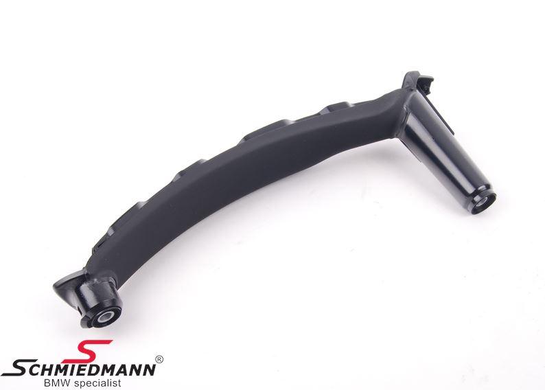 Træk-håndtag til dørbeklædning, inderste del V.-side, sort (Passer både til for- eller bagdør)