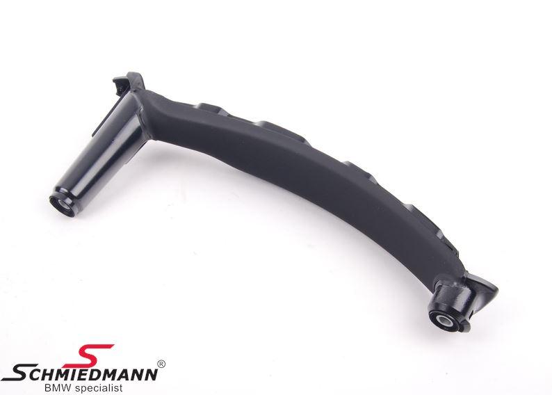 Træk-håndtag til dørbeklædning, inderste del H.-side, sort (Passer både til for- eller bagdør)