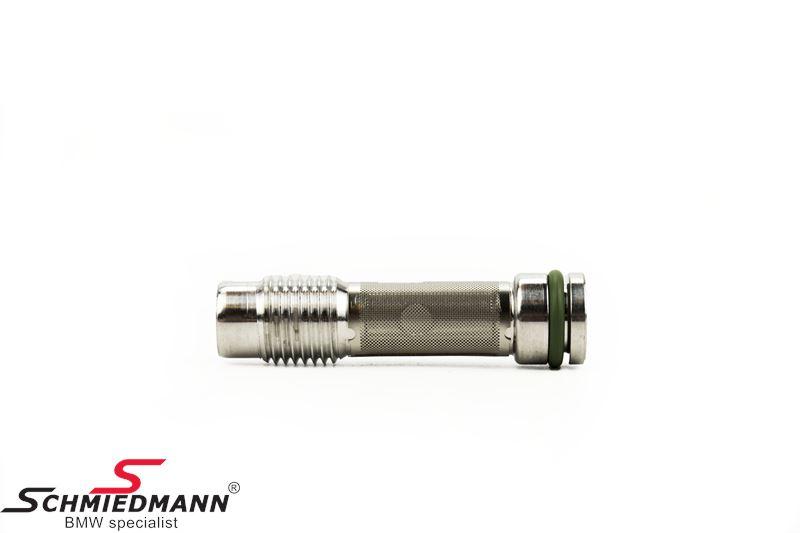 Tilbageløbs-ventil på topstykke