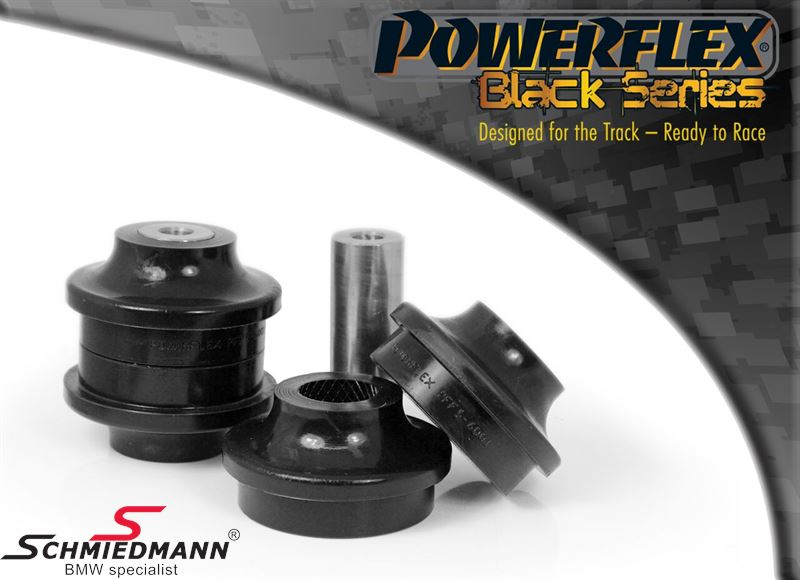 Powerflex racing -Black Series- front arm (wishbone) inner bush set (Pos. 1 on diagram)