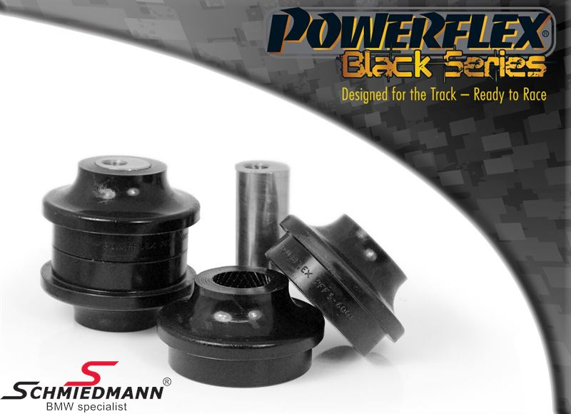 Powerflex racing -Black Series- front arm (wishbone) inner bush set, with adjustable caster +/- 0.5° (Pos. 1 on diagram)