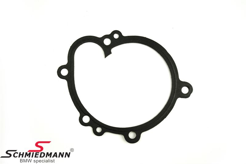 Waterpump gasket between waterpump and engine block