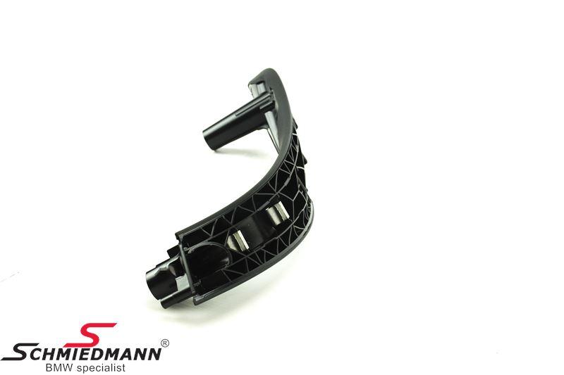 Trækhåndtag til fordørsbeklædning inderste del H.-side, sort