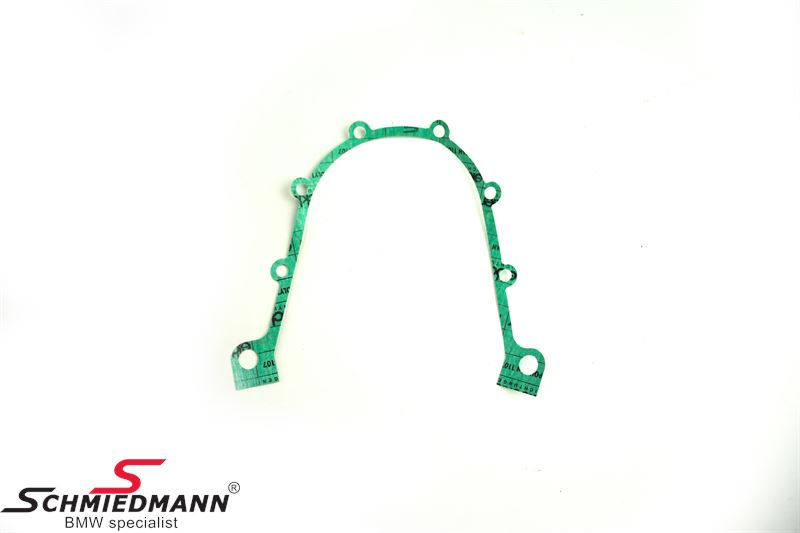 Gasket for crankshaft seal housing