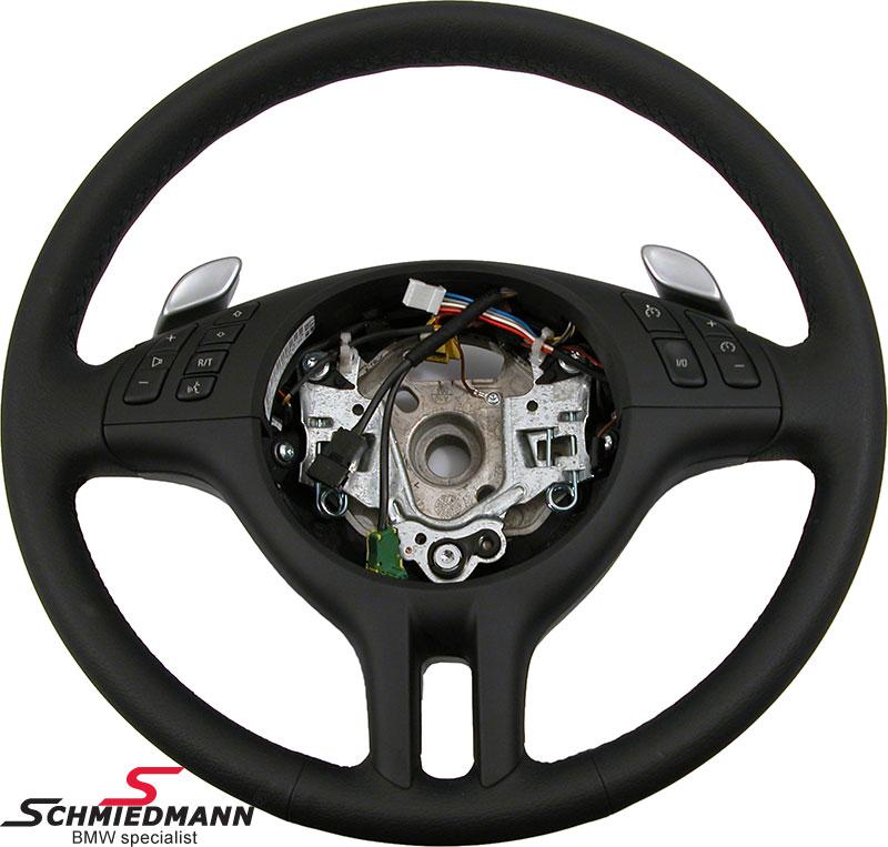 Sportsrat læder SMG med multifunktion uden airbag