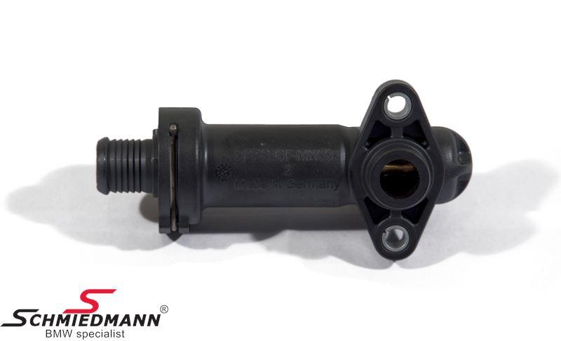Thermostat for AGR valve cooling