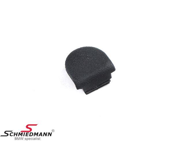 Cover for screw in door trim panel, black