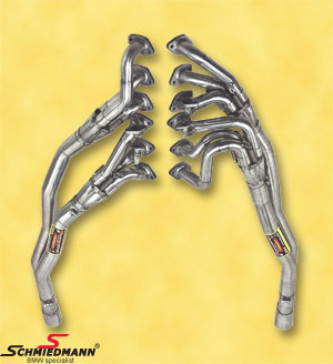 Sport exhaust manifold inclusive high flow metal cat.-system Supersprint