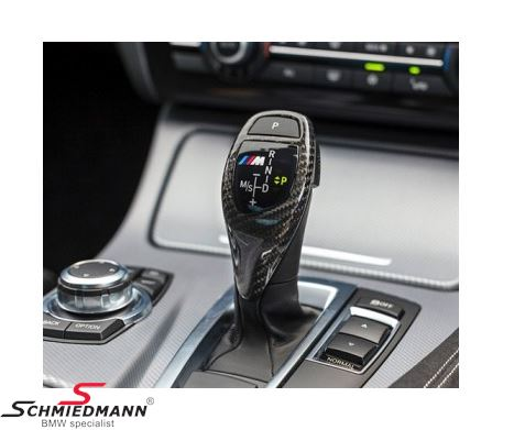 Carbon cover for the gearshifter -/// M-Performance-