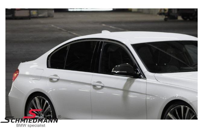 Shadowline højglans sort eftermonterings-sæt - original BMW