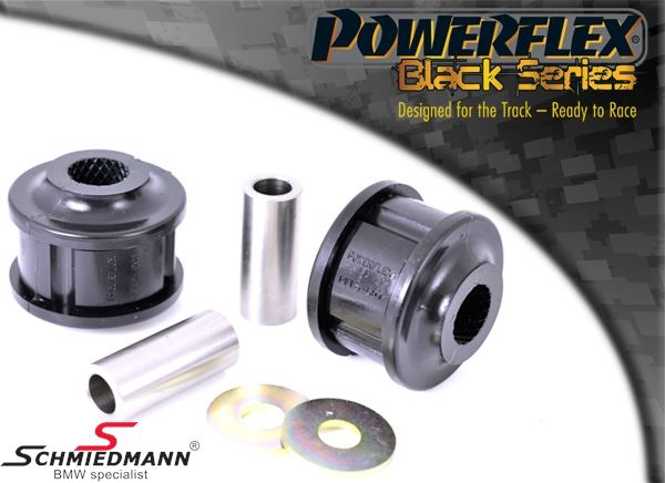 Powerflex racing -Black Series- Front lower tie Bar to chassis bush set (Diagram ref. 1)