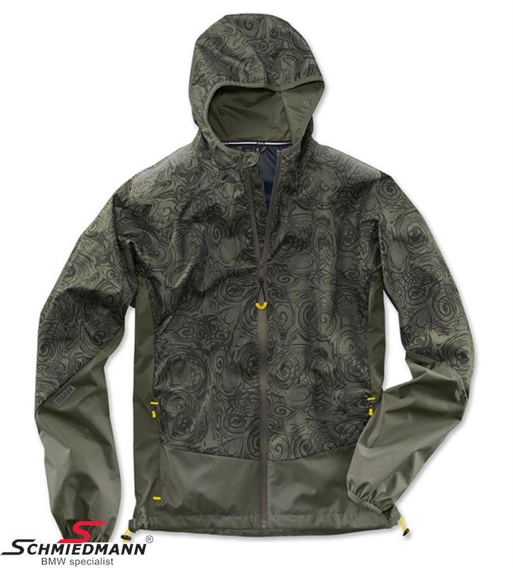 Jacket -BMW Active- olive, mens funktional size L