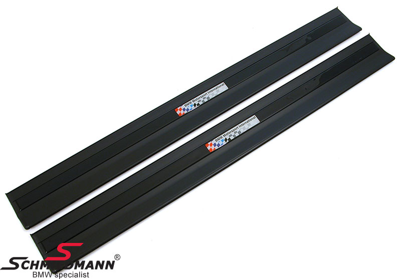 Innstigningslister sorte -BMW Motorsport International-