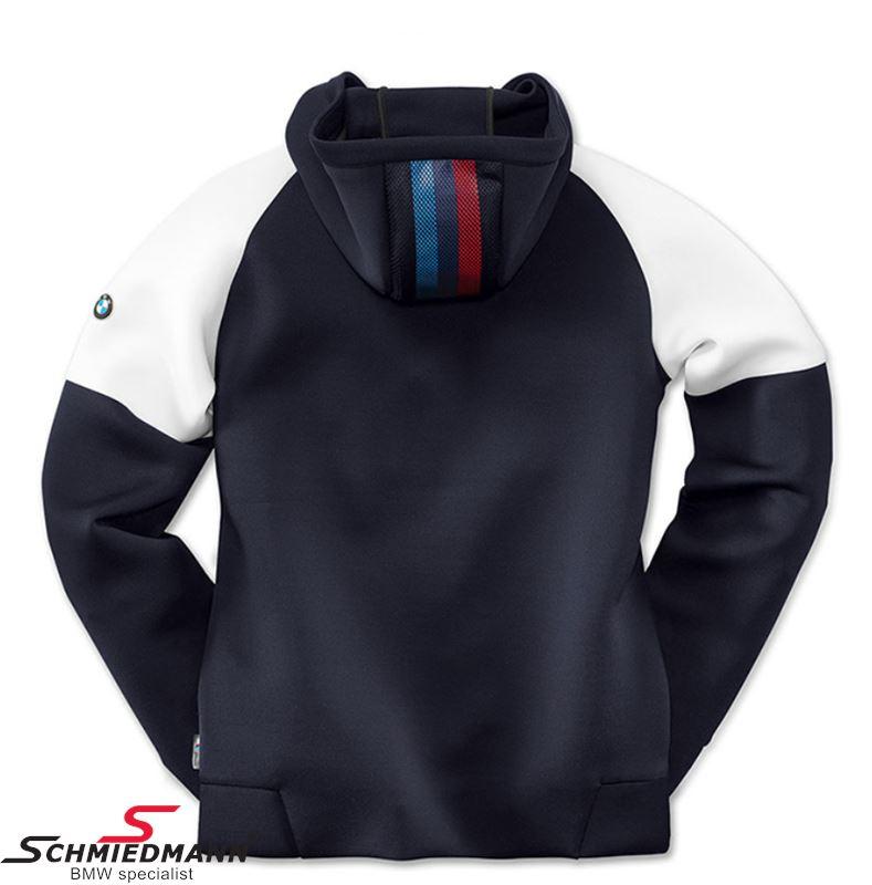 hoodie bmw motorsport blue white women s size xl. Black Bedroom Furniture Sets. Home Design Ideas