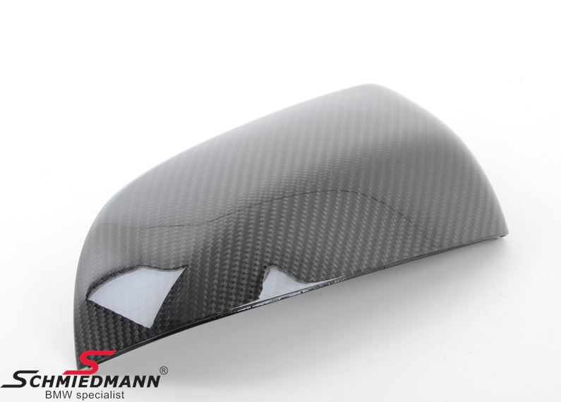 Sidemirror cover original -BMW ///M Performance- genuine carbon L.-side