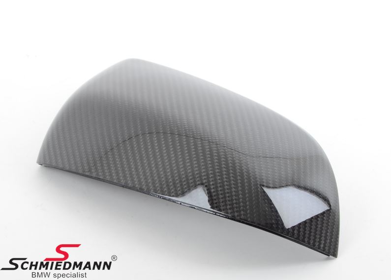 Sidemirror cover original -BMW ///M Performance- genuine carbon R.-side
