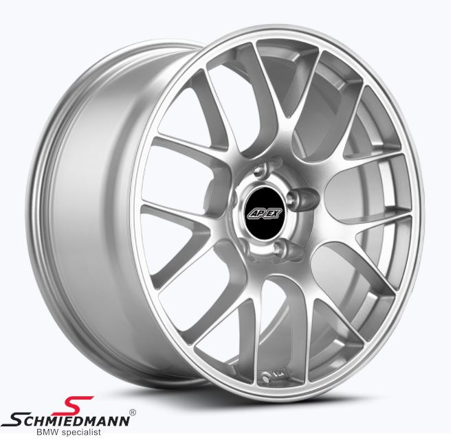 "19"" Z-Performance FlowForged (smedet) -Type ZP2.1- fælg 8,5X19 ET35, Liquid Metal"