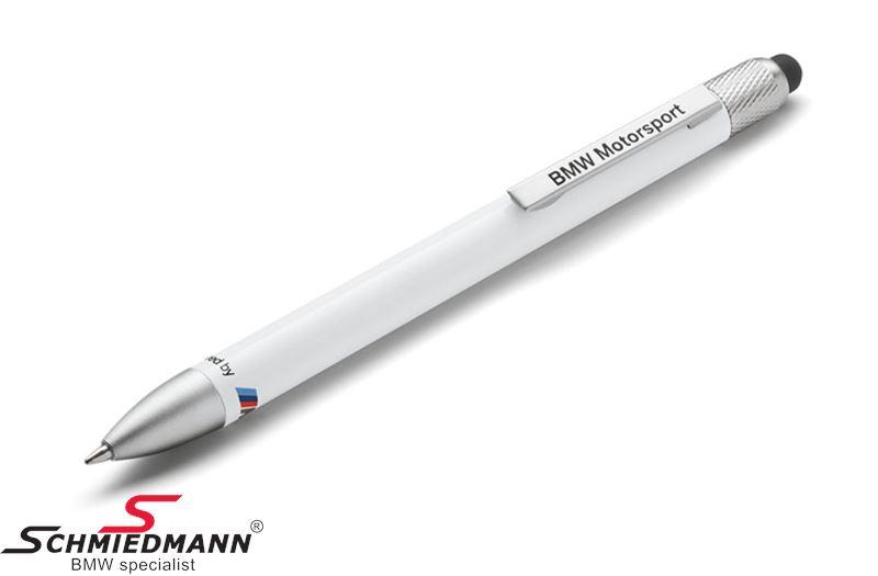 Kugelschreiber -BMW Motorsport- Weiss