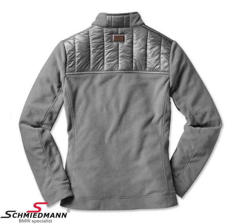 Fleece jacket grey, ladies size M 80142412125 80 14 2 412 125 2412125