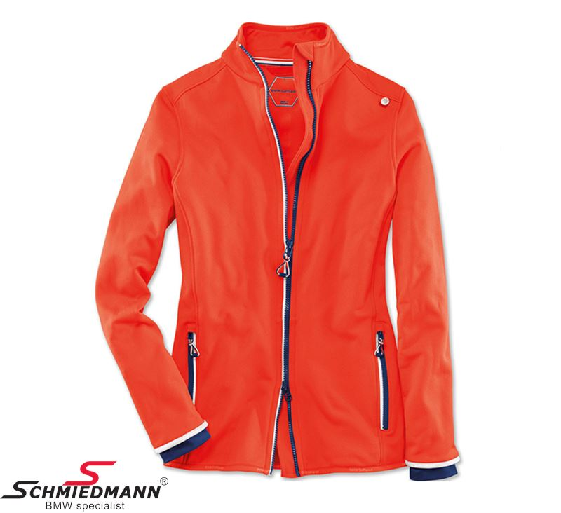 Bmw Xs: Fleece Jacket -BMW Golfsport- Ladies, Fire Size XS
