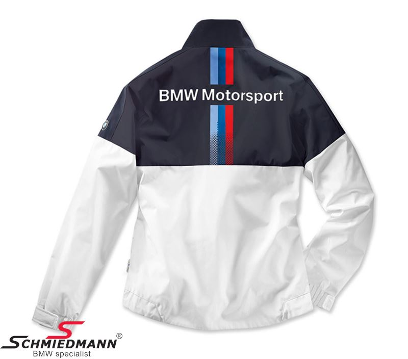 Bmw Xs: 80-14-2-446-411 Jacket -BMW Motorsport- Ladies, White/blue