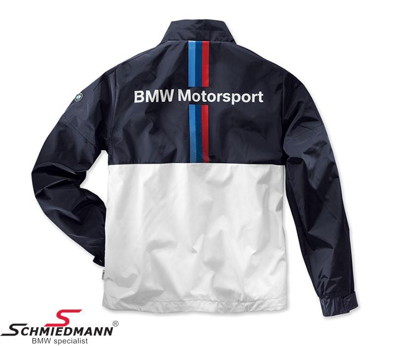 jacket bmw motorsport mens white blue size xxl. Black Bedroom Furniture Sets. Home Design Ideas