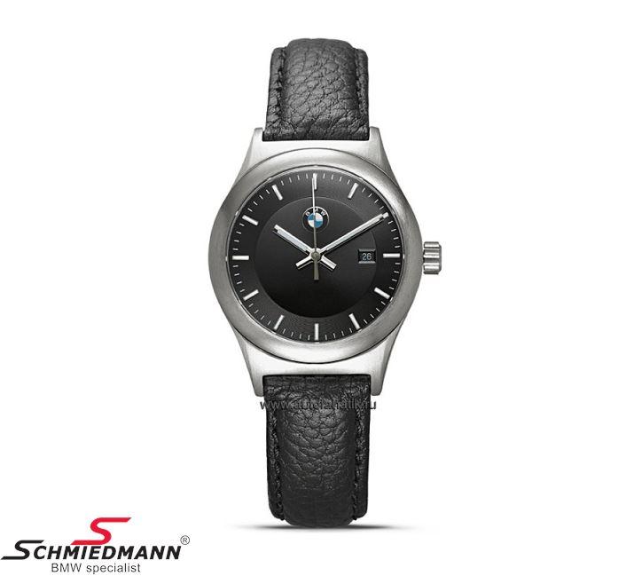 BMW dame classic armbåndsur, sort - original BMW
