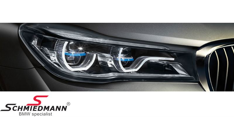 Headlight With Laser Light H Side Original Bmw For Retrofit More Modules Must Be Bought Separately See Under Details 63117408704 63 11 7 408 704 7408704 63 11 7 408 704
