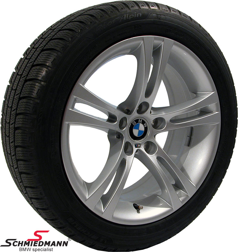 "18"" Sternspeiche 184M original BMW rims with 245/45/18 Michelin Pilot winter tyres"