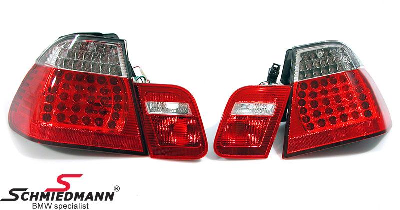Rückleuchten LED rot/weiss upgrade mit blinker oben