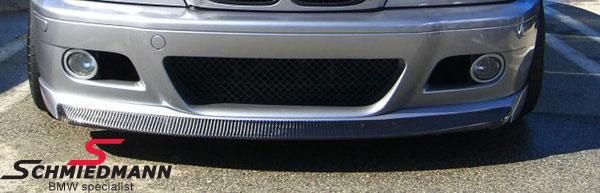 BMW E46 Frontspoilerlippe echt Carbon EVO II für M3 Frontspoiler