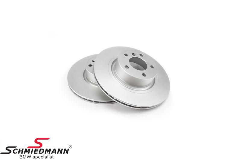 Bremsscheiben hinten belüftet 300X20MM, –Original Zimmermann Germany-