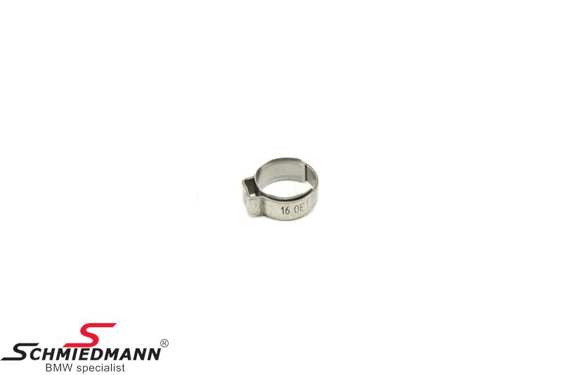 Hose clamp D=13,1-15,3MM - Original BMW