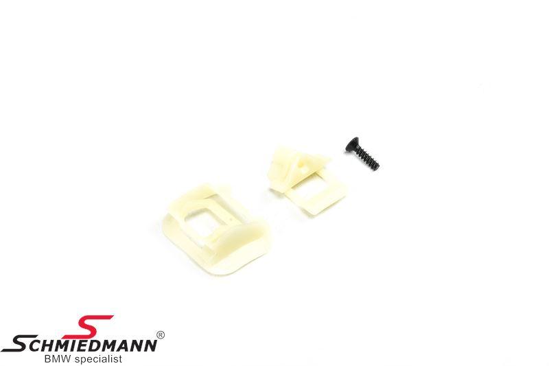 Repair kit for door handle recess, L.-side