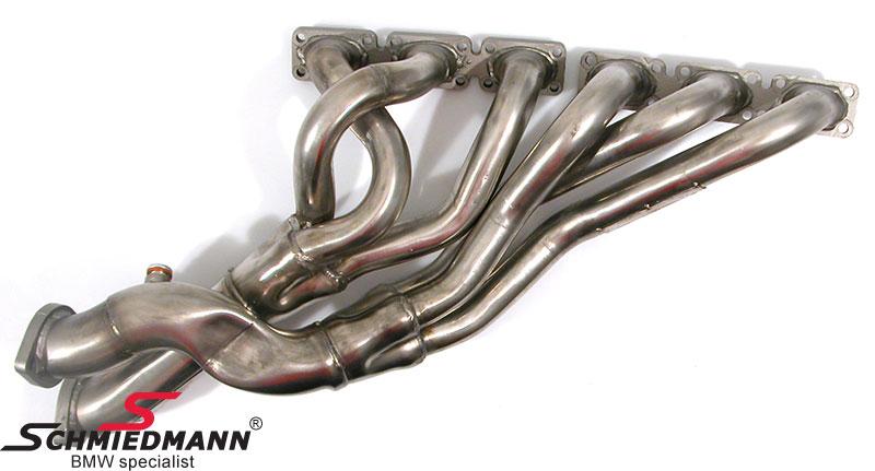 Bananmanifold Schmiedmann S-Tech. S50/S52 (40MM rør samles i 60MM rør)