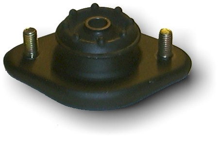 Guide support shock absorber rear