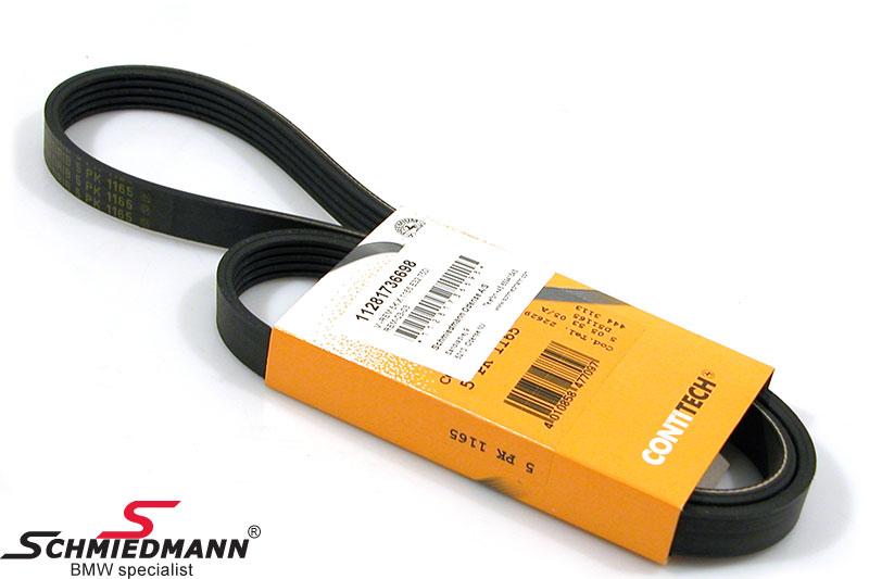 Belt drive aircond. compressor 5K X 1165