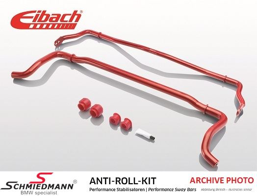 Eibach undercarrige reinforced stabilizer kit, front 28MM/rear 15MM