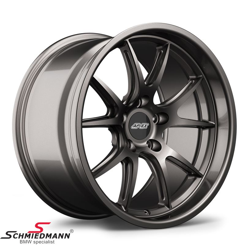 "18"" APEX FL-5 wheel 10,5x18 ET22 deep lip, anthracite (Fits only rear)"