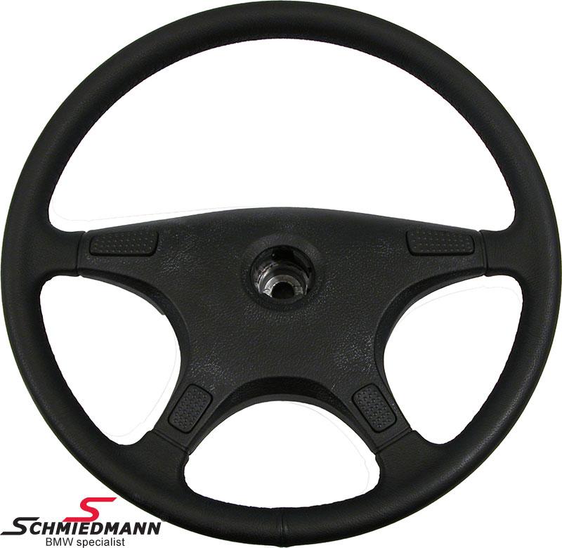 Leather steering wheel D=395MM original BMW